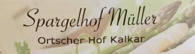 Regionaler Spargel vom Ortscher Hof Müller ab sofort verfügbar!